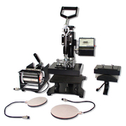 Combo 8 in 1 Heat Press Machines at  Coralgraph !