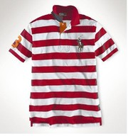 $14 ralph lauren stripes polo, armani necktie, boss dress shirt $15, LV T