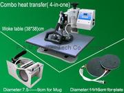 Combo heat transfer(4-in-one machine )