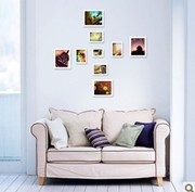 hanging family photo wall, photo collage frame wall, frame photo corner