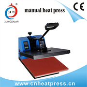 Manual t-shirt heat press machine,  garment heat transfer machine