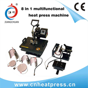 8 in 1 combo multipurpose heat press machine,  heat transfer machine