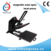Magnetic heat transfer machine,  sliding out heat press machine