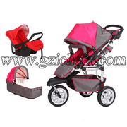 Baby stroller 3 in 1,  China baby stroller manufacturer