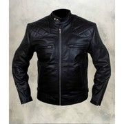Get David Beckham Black Leather Jacket at the Best Prices
