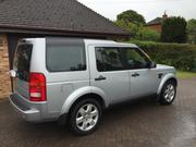 land rover discovery 2008 LAND ROVER DISCOVERY TDV6 HSE A SILVER