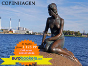 Book cheap Copenhagen city breaks 3 nts fr £177 PP
